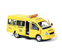 <b>Play Smart</b> Автопарк инерционная <b>машина</b> Газель 3221 такси 23 см