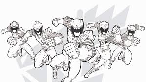 Rangers Coloring Page Power Rangers The Official Power Rangers