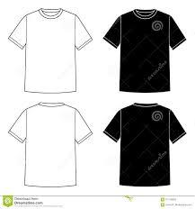 T Shirt Template Stock Vector Illustration Of Creativity 101108933