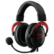 Купить Игровые <b>наушники HyperX Cloud II</b> Red (KHX-HSCP-RD) в ...