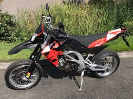 sold 2007 aprilia sxv 550 supermoto edr performance
