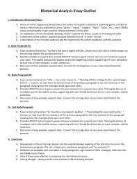 How To Write A Rhetorical Analysis Essay 7 Templates