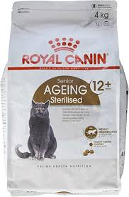 <b>Royal Canin</b> Dry Cat Food <b>Sterilised</b> 12 Plus 4 Kg: Amazon.co.uk ...