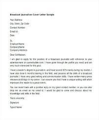 Journalist Cover Letter – Resume Pro