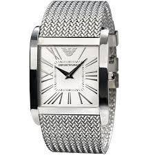 emporio armani mens classic stainless steel watch ar0585 outl emporio armani classic steel watch ar2014 for men