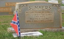 William Franklin Summers (1841-1907) - Find A Grave Memorial