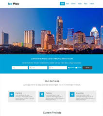 real state template free bootstrap real estate web template webthemez