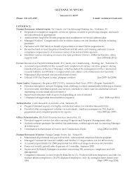 Hr Executive Resume Examples Sidemcicek Com