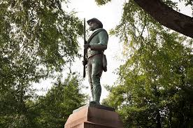 Image result for image statue of confederate soldier in southern town square