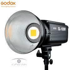 Đèn led quay phim chụp ảnh Godox SL-100W ánh sáng trắng