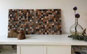 Wooden Wall Art Houten Wanddecoratie