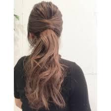 30代の簡単ヘアアレンジ15選ママのゆるふわな髪型やまとめ髪は Belcy