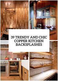 Chic Copper Kitchen Backsplashes ...