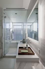 Modern Marble Bathroom Bathroom Shower Marble Tiles Glass Door Massive Modern Home In
