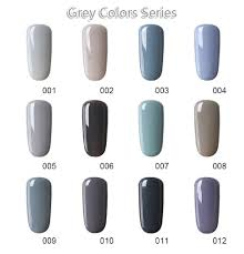 Gel Lak Grey Color Series No001
