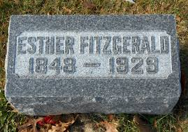 Sarah Esther Hanna Fitzgerald (1848-1929) - Find A Grave Memorial