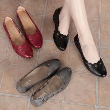 Mom sandals female summer <b>flat</b>-<b>bottom slope with</b> comfortable soft ...