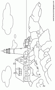 Small Picture Beautiful Lighthouse Coloring Pictures Pictures Coloring Page