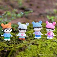 2019 miniature couple doll figurines toys decoration fairy garden gnome accessories moss terrariums wedding ornaments dollhouse diy craft from ivysunday