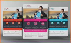Marketing Flyer Template Free Magdalene Project Org