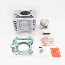 high quality motorcycle cylinder kit for haojue suzuki gd110 gd 110 110cc engine spare parts