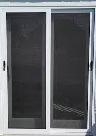 security screen doors. Sliding Security Screen Doors Installed