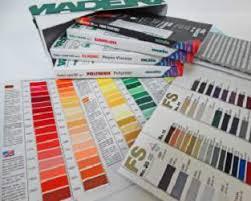 Madeira Thread Color Card Collection