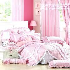 pink ruffle comforter pink ruffle bedding ideas set loading zoom dreamy polka dots dot comforter target pink ruffle comforter