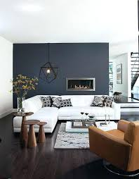 dark gray accent wall remarkable design ideas living room grey modern fireplace white letter l sofa