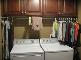 Nice Laundry Room Pictures To Hang Clothes Bar