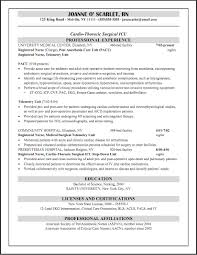 66 Beautiful Collection Of Sample Resume Medical Surgical Staff