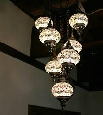 beautiful light shimmers turkey oriental pendant light lamp mosaic gala lamp chandelier 7 light turkey lamp clear white ceiling lighting