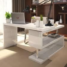 back to modern white corner computer desk decoration