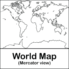 Coloring Pages: world map coloring page with countries. World Map ...