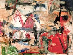 scanned from willem de kooning paintings