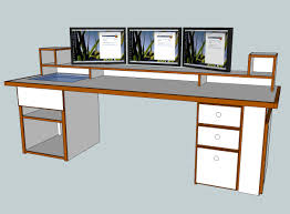 Build It Yourself Computer Desk Plans Woodworking Workbench Projects Of And  Inspirations