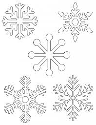 Printable Snowflake Patterns