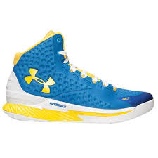 under armour youth shoes. youth under armour curry one team royal/taxi basketball shoes - nba store d
