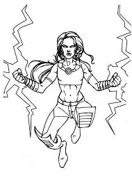 Small Picture Free storm coloring pages x men coloring pages storm Grootfeestinfo