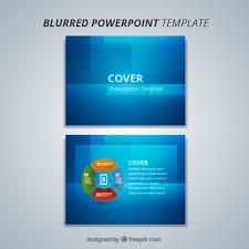 Plantillas Power Point Modernas Plantilla Azul Moderna De Powerpoint Vector Gratis
