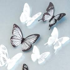 3d butterfly wall decal buy lot creative butterfly stickers buy lot  creative butterfly stickers removable wall . 3d butterfly wall ...