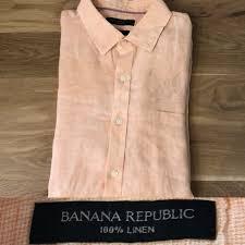 Banana Republic Camden Fit Linen Shirt