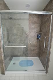 47 walk in shower shelves built shelf marble grid floorjpg kadoka net