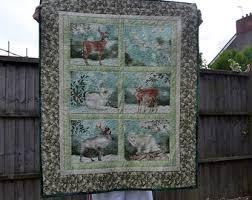 Nursery cot panel | Etsy & Arctic animals baby quilt, nursery new baby gift, cot quilt, crib quilt, Adamdwight.com