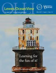 Tide Chart Lewes De 2017 Ud Osher Lewes Ocean View Catalog Fall 2017 By University