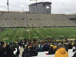 Kinnick Stadium Section 128 Home Of Iowa Hawkeyes