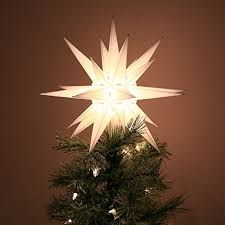 Christmas Tree Toppers Youu0027ll Love  WayfairChristmas Tree Lighted Star