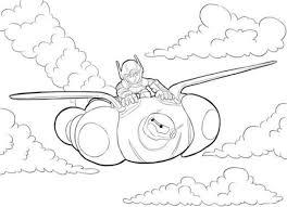 Disegni Da Colorare Big Hero 6 Cartoni Animati