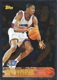 1996-97 Topps Basketball NBA at 50 #163 Wesley Person | eBay