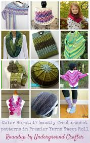 Sweet Roll Yarn Crochet Patterns
